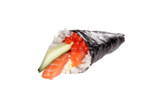 Sake Temaki (per stuk)